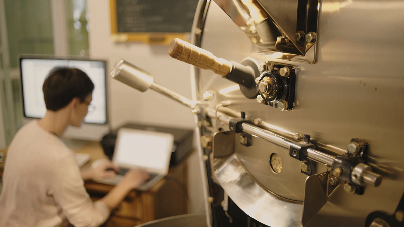 Cách sử dụng máy rang cà phê