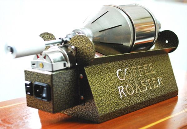 Các loại máy rang cà phê hiện nay