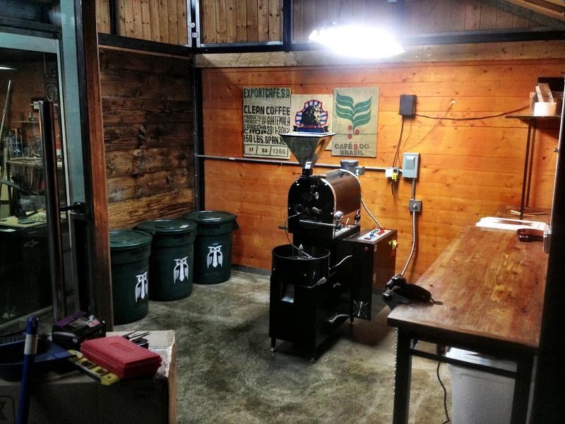 Nguyên lý hoạt động máy rang cà phê