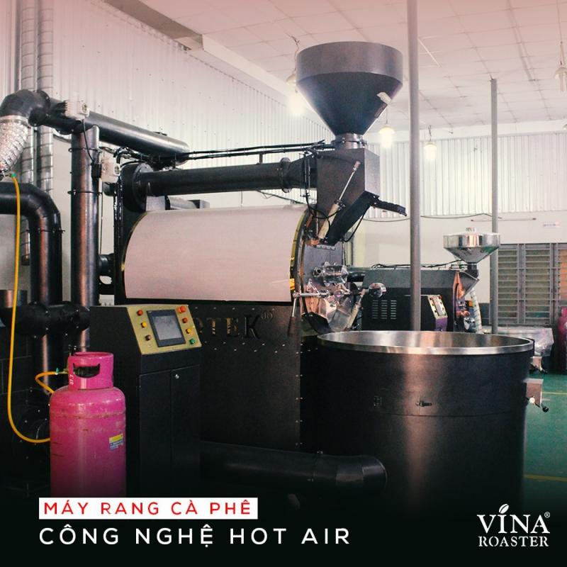 Vì sao nên chọn máy rang cà phê công nghệ hot air?