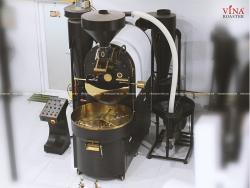 Máy rang cà phê Brotek Double Drum 22kg