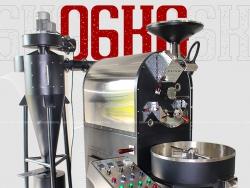 Máy rang cà phê Brotek Double Drum 6KG