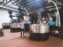 Vì sao nên mua máy rang cà phê công nghiệp công suất lớn?