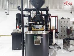 Máy rang cà phê 30kg hot air hồi khí