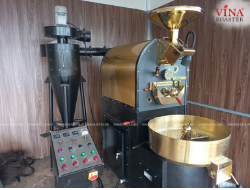 VINA ROASTER LẮP ĐẶT MÁY RANG CÀ PHÊ 6KG TẠI KHÁNH HỒNG COFFEE