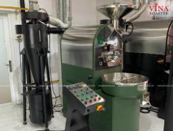VINA ROASTER LẮP ĐẶT MÁY RANG CÔNG SUẤT 10KG TẠI  TWITTER BEANS COFFEE