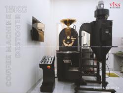 Lắp Đặt Máy Rang Cà Phê 15kg - Anh Đông Tại Tân Phú