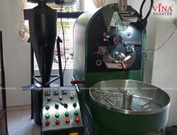 Lắp Đặt Máy Rang Cà Phê 10kg - Anh Long - Green Coffee