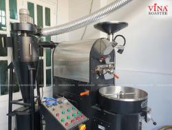 Lắp Đặt Máy Rang Cà Phê 6Kg - ATOM Coffee - Anh Quyền